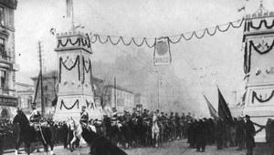 1 grudnia 1916 r. Legiony Polskie wkraczają do Warszawy