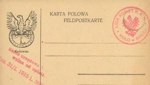 1 lutego 1916 r. Pocztówki po polsku