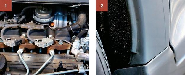 """1. Odnotowano jednostkowe przypadki przedwczesnego zużycia wtryskiwaczy common rail w dieslu 2.0 D-4D 126 KM. 2. Na rantach błotników lakier cierpi najbardziej – jest """"piaskowany"""" przez brud spod kół. Rdza na razie nie występuje. /Motor"""