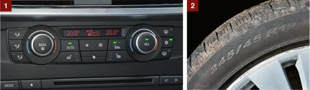 [1] Uwaga: wcale nie wszystkie auta mają klimatyzację automatyczną (ale większość). Panel klimatyzacji dwustrefowej jest łatwy w obsłudze i może jeszcze mieć przełączniki podgrzewania foteli. [2] Nawet w wersji 20d można trafić na egzemplarze z kołami 19-calowymi. Odradzamy. /Motor