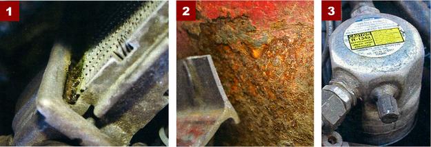 [1] W niektórych Espero zdarzają się nieszczelności chłodnicy. Jednak nie jest to reguła.[2] Korozja progów jest wynikiem srogich polskich zim i wszechobecnej w tym okresie soli.[3] Czasami także sprężarka klimatyzacji nie wytrzymuje dłuższego okresu eksploatacji. /Motor