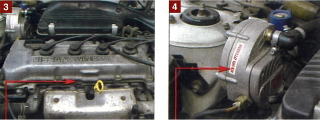 [1] W starszych autach ciężko działają wszelkie klamki, korbki, suwaki. [2] Korozja atakuje w pierwszej kolejności drzwi i okolice progów. [3] Silniki mają dużą trwałość, wycieki oleju praktycznie nie występują. [4] Instalacja gazowa nie jest rzadkością. Silniki nie protestują. /Motor