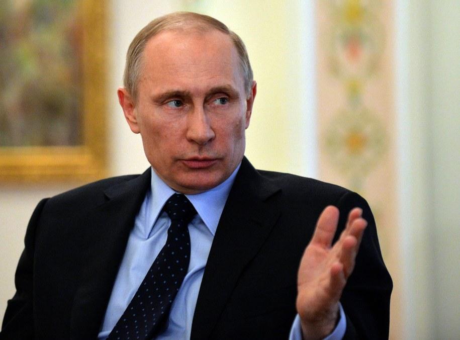 10 kłamstw Władimira Putina /Yuri Kadobnov /PAP/EPA