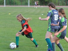 10-letnia dziewczynka strzeliła gola w meczu ligowym