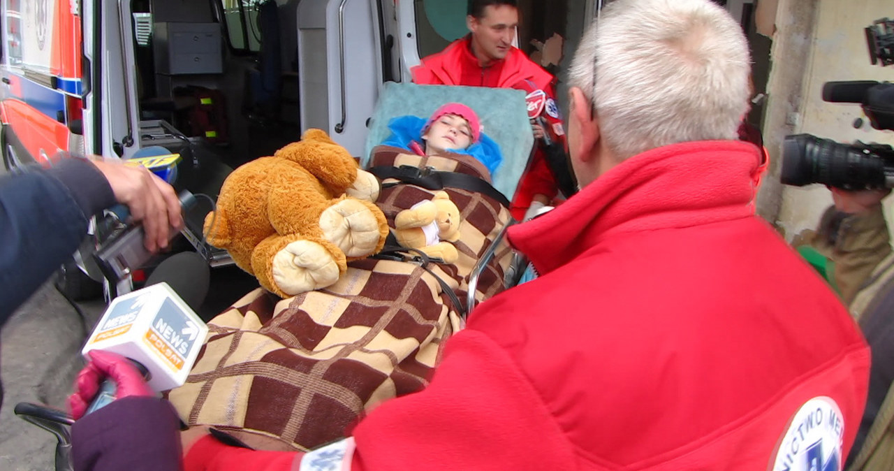 10-letnia Karina dotarła do szpitala w Gdyni