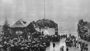 10 lutego 1920 r. Generał Józef Haller dokonał symbolicznych zaślubin Polski z Morzem Bałtyckim