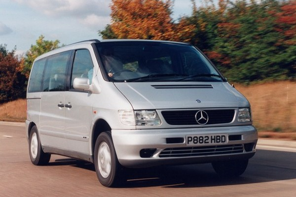 Mercedes klasy V (1996-2004), indeks niezawodności: 547