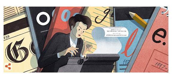 10 października Google przypomina Clare Hollingworth /
