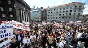 10 tys. posiadaczy kredytów we frankach wyszło na ulice
