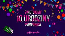 10. urodziny świętuje Pomponik, plotkarski serwis Interii