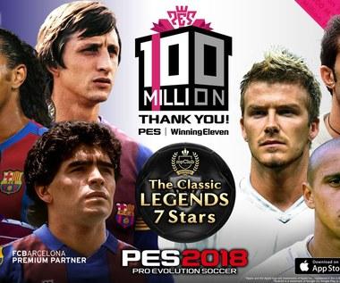 100 milionów kopii PES-a