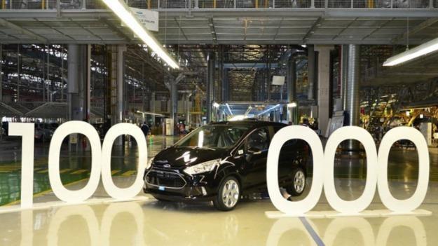 100 tys. Fordów B-MAX /