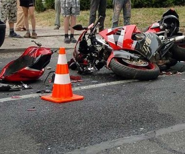 100 wypadków z udziałem motocyklistów