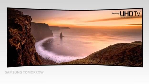 105-calowy zakrzywiony telewizor Ultra HD Samsunga /materiały prasowe
