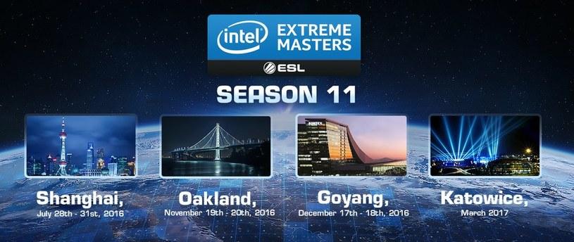 11. sezon Intel Extreme Masters /materiały prasowe
