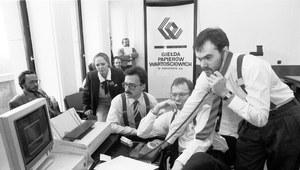 12 kwietnia 1991 r. W Warszawie powstaje Giełda Papierów Wartościowych