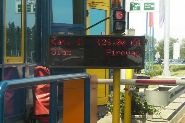 126 kun za przejazd... /