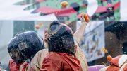 138 osób z obrażeniami po... karnawałowej bitwie na pomarańcze