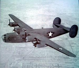 14 sierpnia 1944 r. Samolot RAF-u Liberator został zestrzelony nad Puszczą Niepołomicką