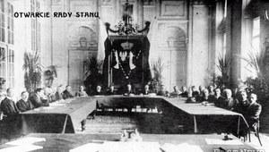 14 stycznia 1917 r. Tymczasowa Rada Stanu w Królestwie Polskim rozpoczyna działalność