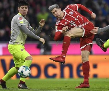 15. gol Roberta Lewandowskiego i inne mecze Bundesligi. Wideo