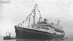 """15 września 1935 r. Pierwszy transatlantycki rejs """"Piłsudskiego"""""""