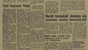 16 listopada 1950 r. II Światowy Kongres Obrońców Pokoju