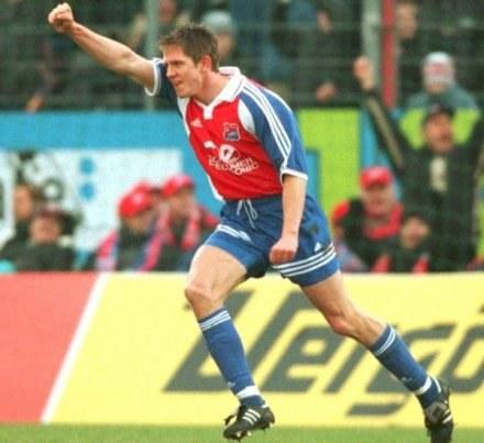 17.02.2001 r. Spiżak pogrąża Bayern Monachium. Świat zwraca oczy na 22-latka z Polski /Getty Images/Flash Press Media