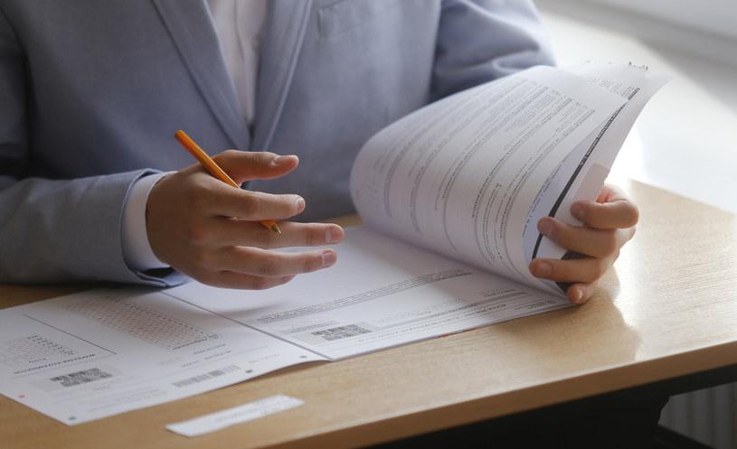 18 kwietnia gimnazjaliści pisali egzamin w całej Polsce /Krzysztof Kapica /East News