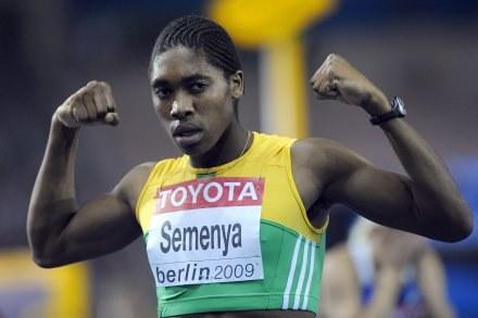 18-letnia Caster Semenya z RPA /AFP