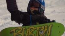 18-miesięczny snowboardzista z Kanady