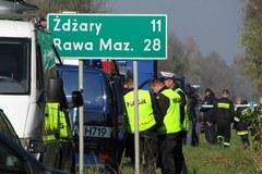 18 osób zginęło w tragicznym wypadku na Mazowszu