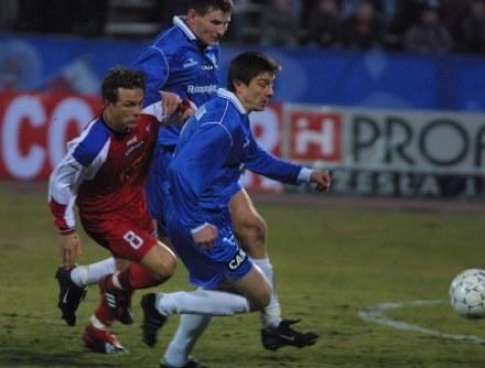 19 marca 2003 Górnik zremisował z Ruchem 0-0,FOT.Dariusz Hermiersz /Agencja Przegląd Sportowy
