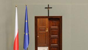 19 października 1997 r. Krzyż na ścianie Sejmu