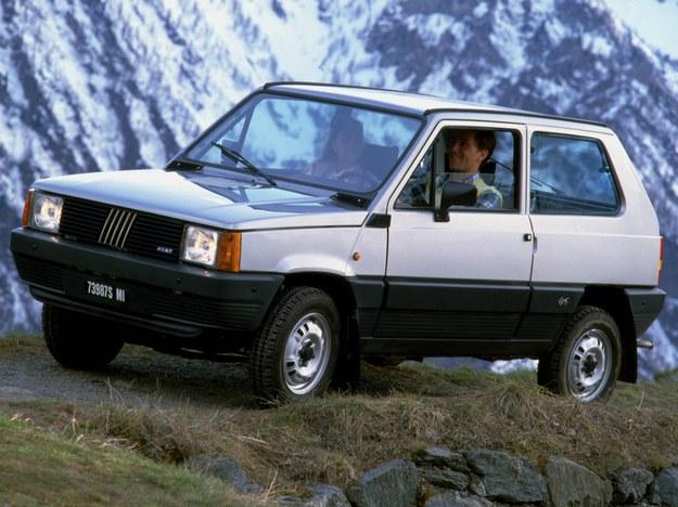 1983 r.: Fiat Panda I 4x4 /Motor