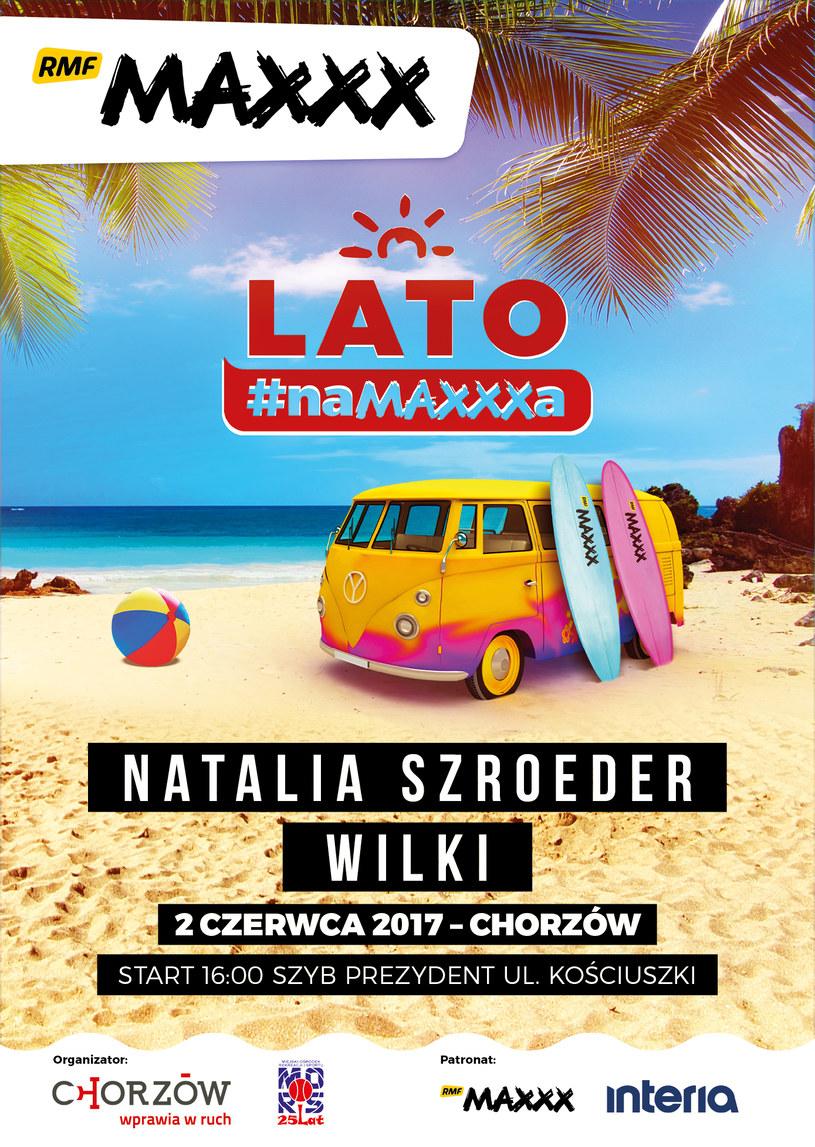 """2 czerwca w Chorzowie rozpocznie się wakacyjna akcja koncertowa """"Lato #naMAXXXa"""" /materiały prasowe"""