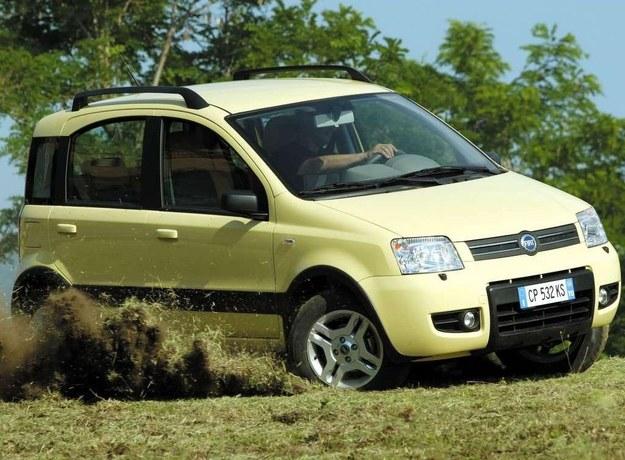 2004 r.: Fiat Panda II 4x4 /Motor