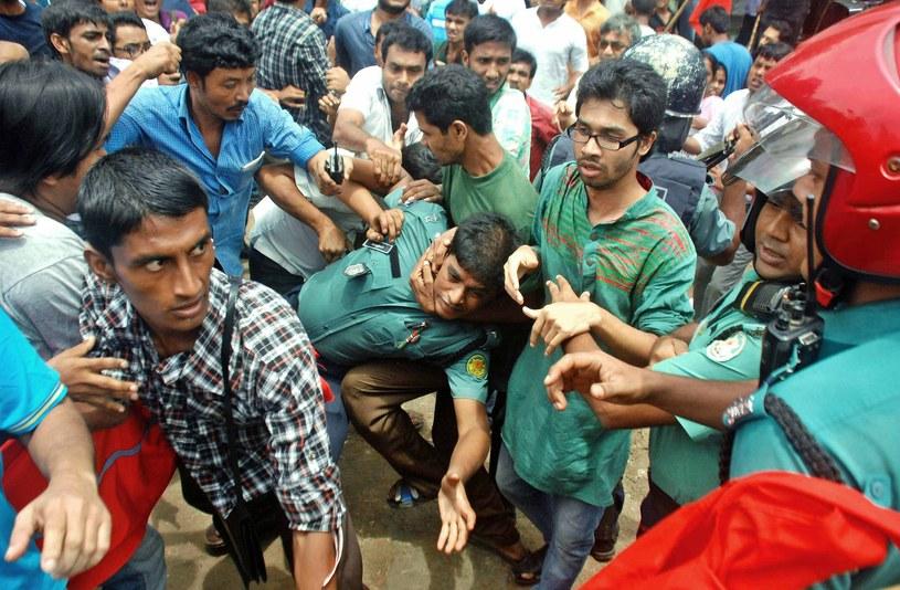 23 osoby stratowane podczas akcji rozdawania odzieży /Asad Mohammad    /PAP/EPA