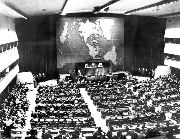 23 października 1946 r., Zgromadzenie w Nowym Jorku /AFP /AFP
