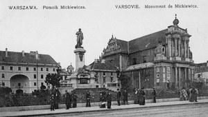 24 grudnia 1898 r. Odsłonięcie pomnika Adama Mickiewicza w Warszawie