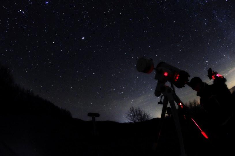 25 kwietnia miłośnicy astronomii będą mogli zobaczyć częściowe zaćmienie Księżyca /123RF/PICSEL