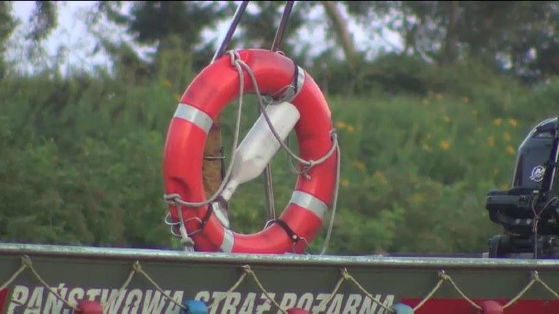 25-latek utonął na kąpielisku /TVN24/x-news
