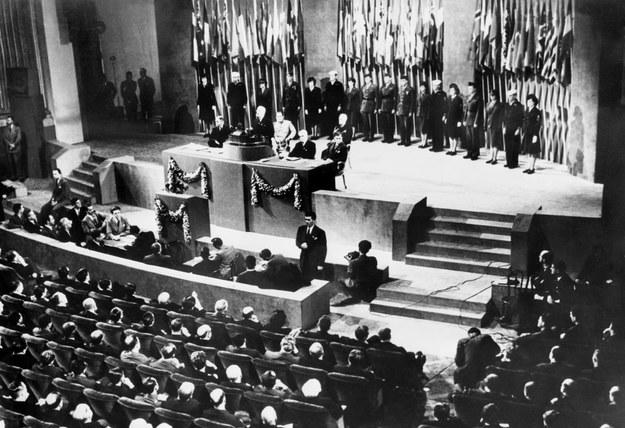 26 czerwca 1945 r., podpisanie Karty Narodów Zjednoczonych /AFP /AFP