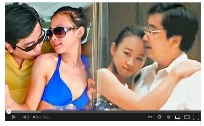 26-letnia konkubina pogrążyła członka chińskiej partii. /YouTube