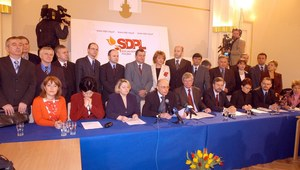 26 marca 2004. Rozłam w Sojuszu Lewicy Demokratycznej