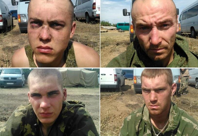 26 sierpnia Ukraińcy schwytali rosyjskich spadochroniarzy, fot. AFP PHOTO/ SBU PRESS-SERVICE/ STR /AFP
