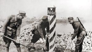 27 lutego 1945 r. Słup graniczny na Odrze