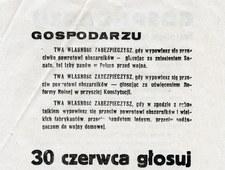 28 czerwca 1946 r. Instrukcja dla agitatorów