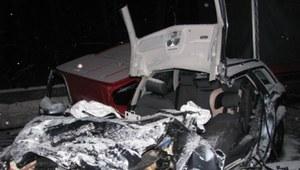 28-letni kierowca zderzył się z ciężarówką. Śmierć na miejscu