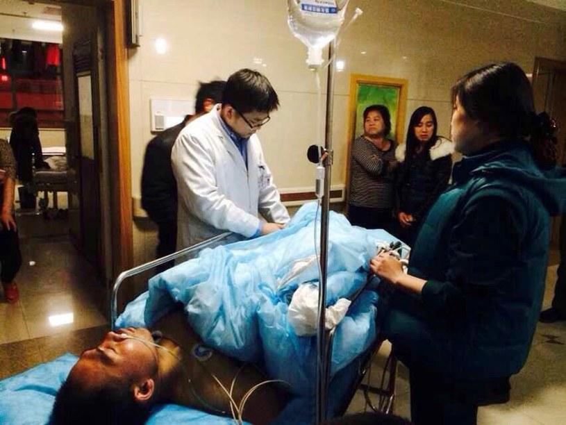 28-letni Yang Hsieh wraca już do zdrowia /East News